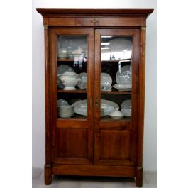 Empire bookcase in cherry wood