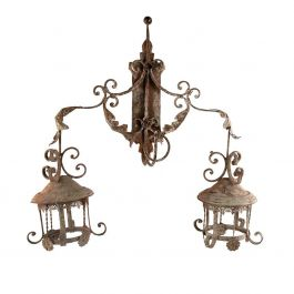 Decorative Vineyard Wall Light