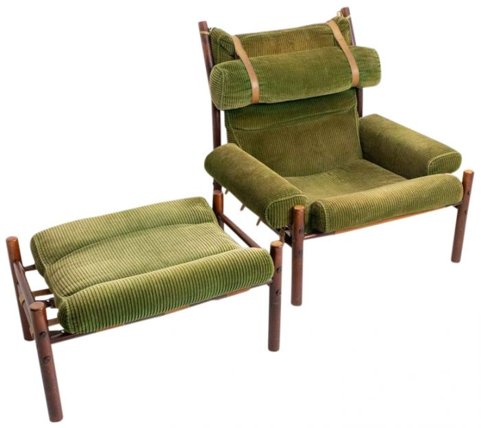 Inca Armchair By Arne Norell For, Arne Norell Inca Chair